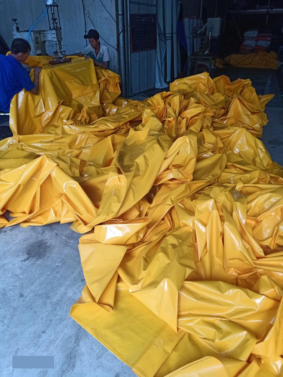 Bạt mái xếp di động (giá chỉ từ 360k) - Bạt che nắng mưa
