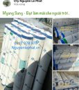 Vải bạt che nắng mưa Myung Sung giá rẻ