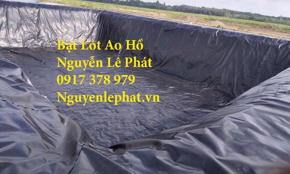 Bạt lót ao hồ chứa nước nuôi cá ốc Cam Ranh