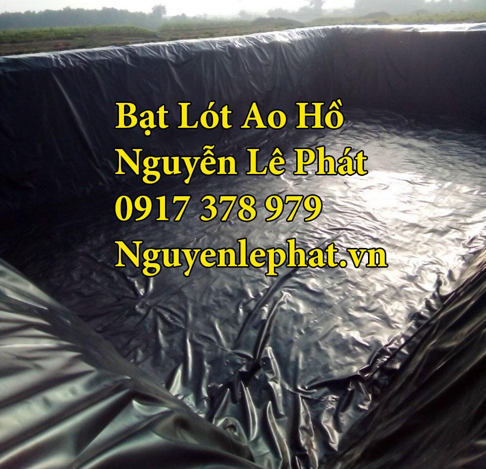 Bạt Lót Ao Hồ Chứa Nước Tưới Cây Nuôi Cá Tân Uyên