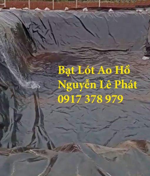 Màng Bạt Nhựa Lót Ao Hồ Chứa Nước Nuôi Cá Hóc Môn