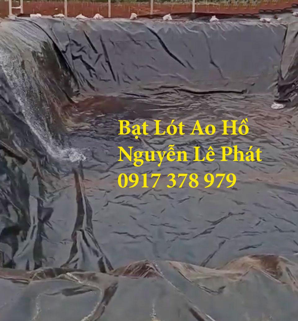 Màng Bạt Nhựa Lót Ao Hồ Chứa Nước Nuôi Cá Ninh Thuận