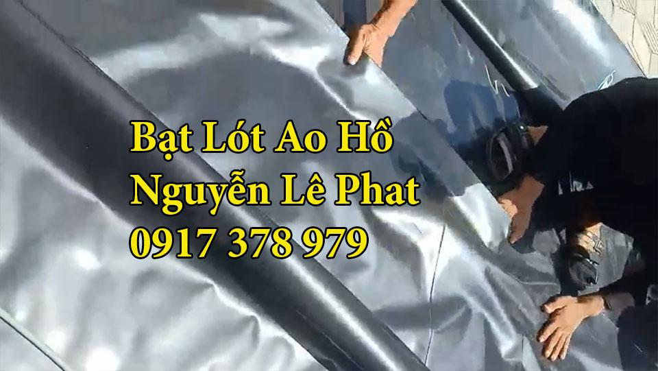 Bạt nhựa HDPE lót hồ cá Tân Uyên
