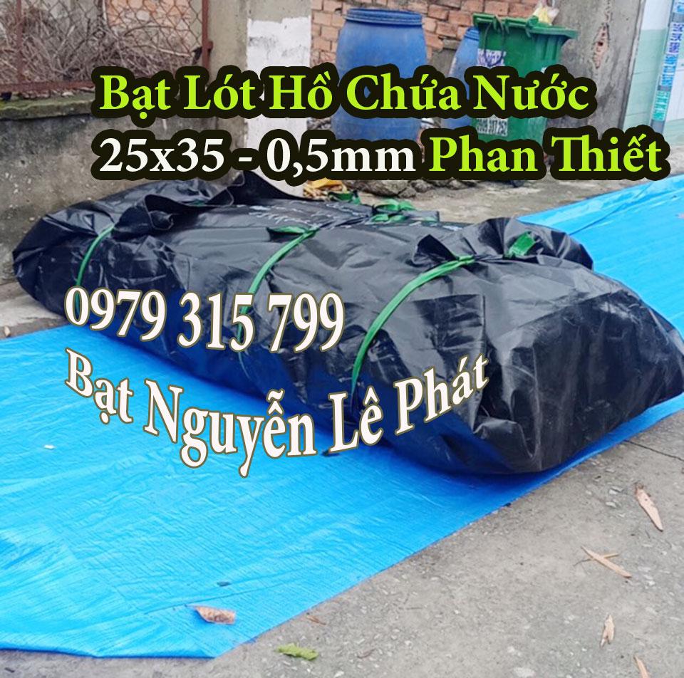 Cung cấp bạt lót ao hồ chứa nước tại Phan Thiết giá rẻ