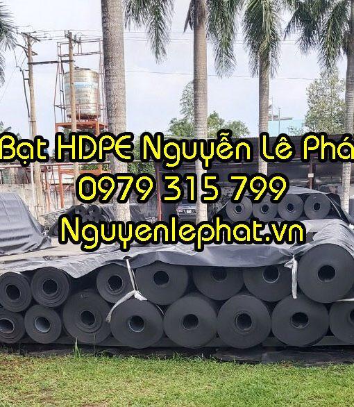 Báo Giá Bạt Nhựa Đen Lót Ao Chứa Nước, Bạt HDPE Đen 2 Mặc TPHCM
